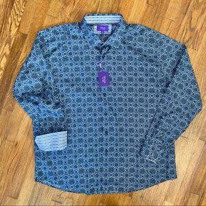 Tallia NWT Men's Button Front Dress Shirt